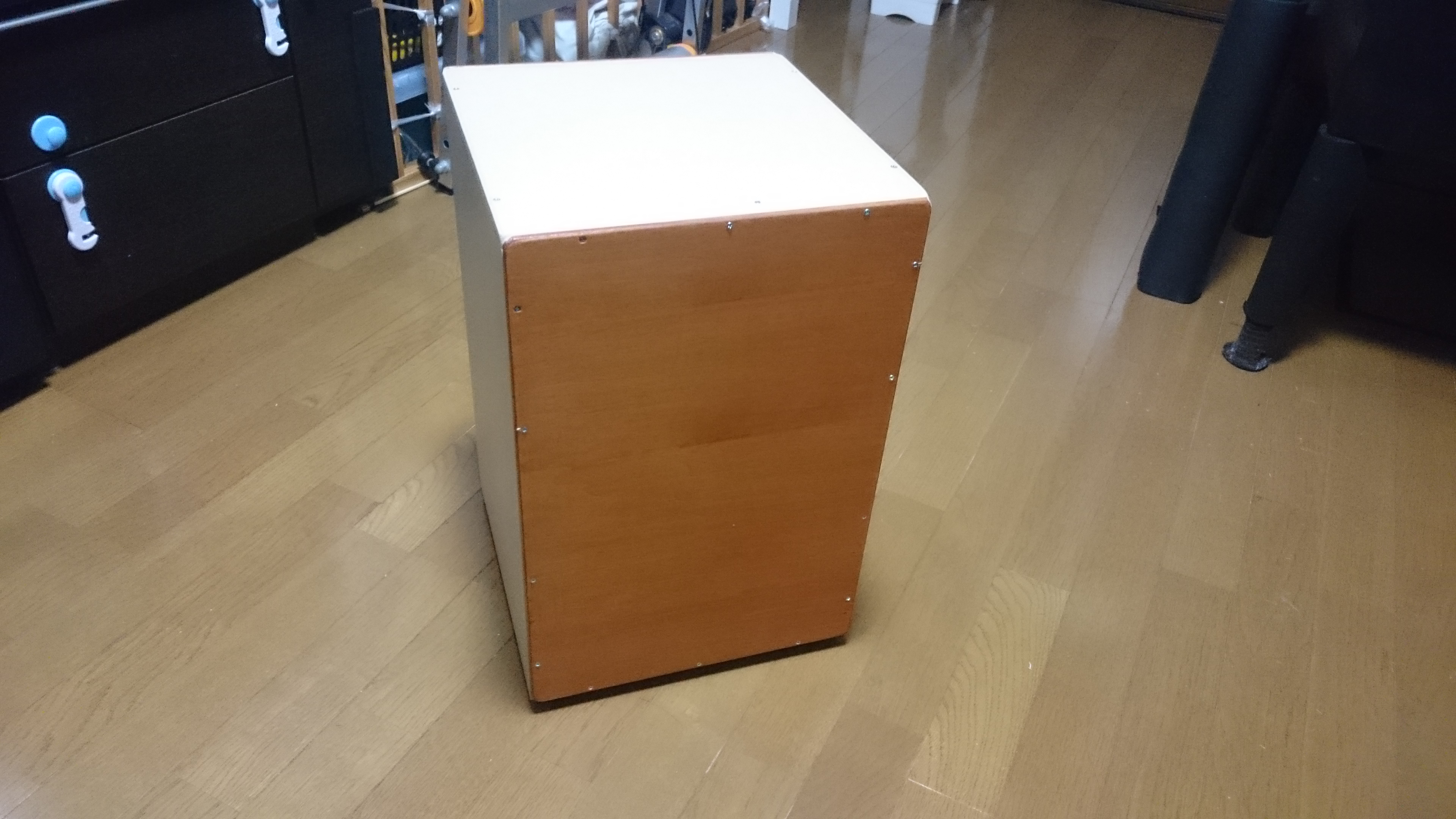 My first DIY cajon!