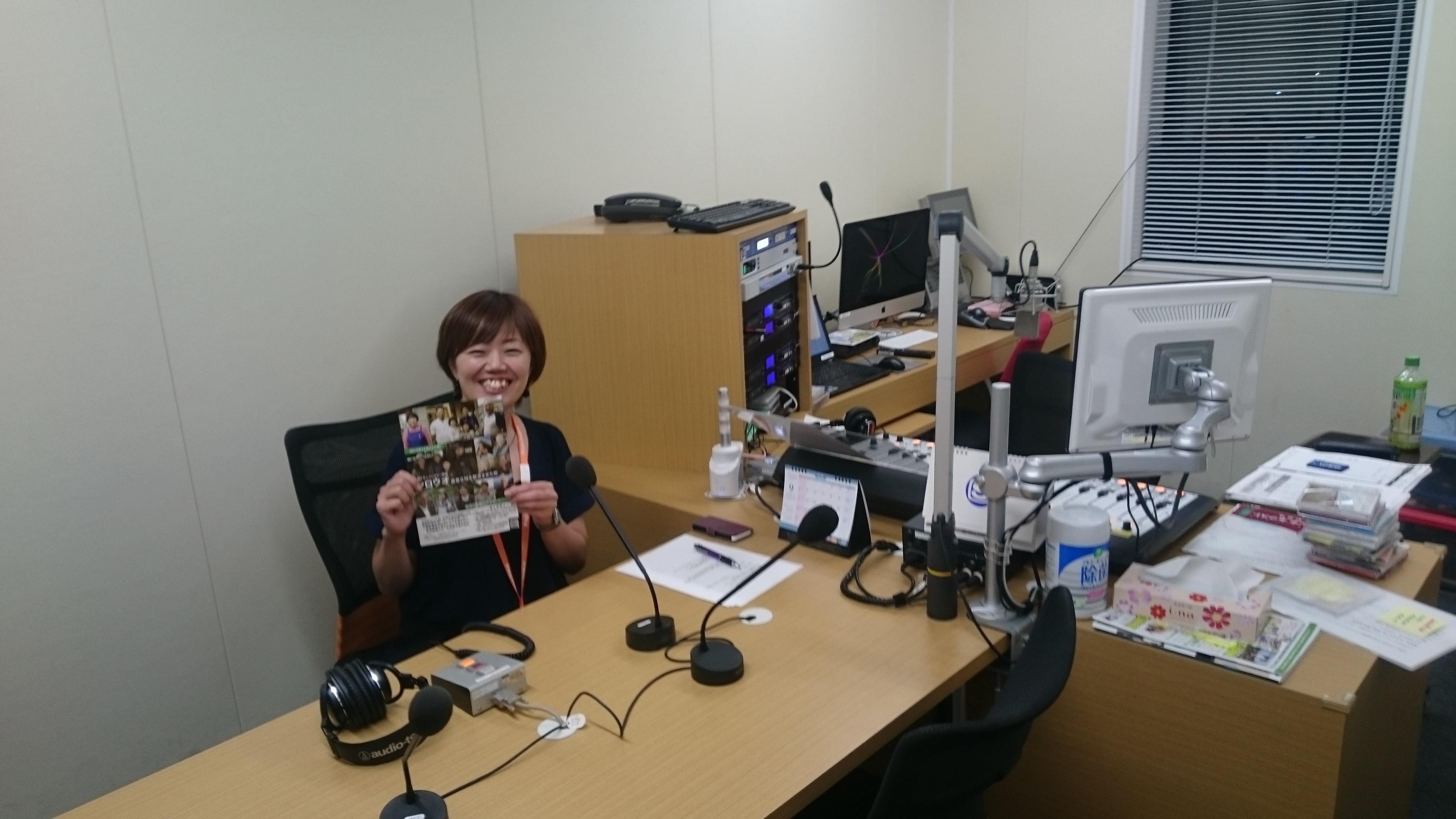 ラジオのスタジオ。初めて入った。