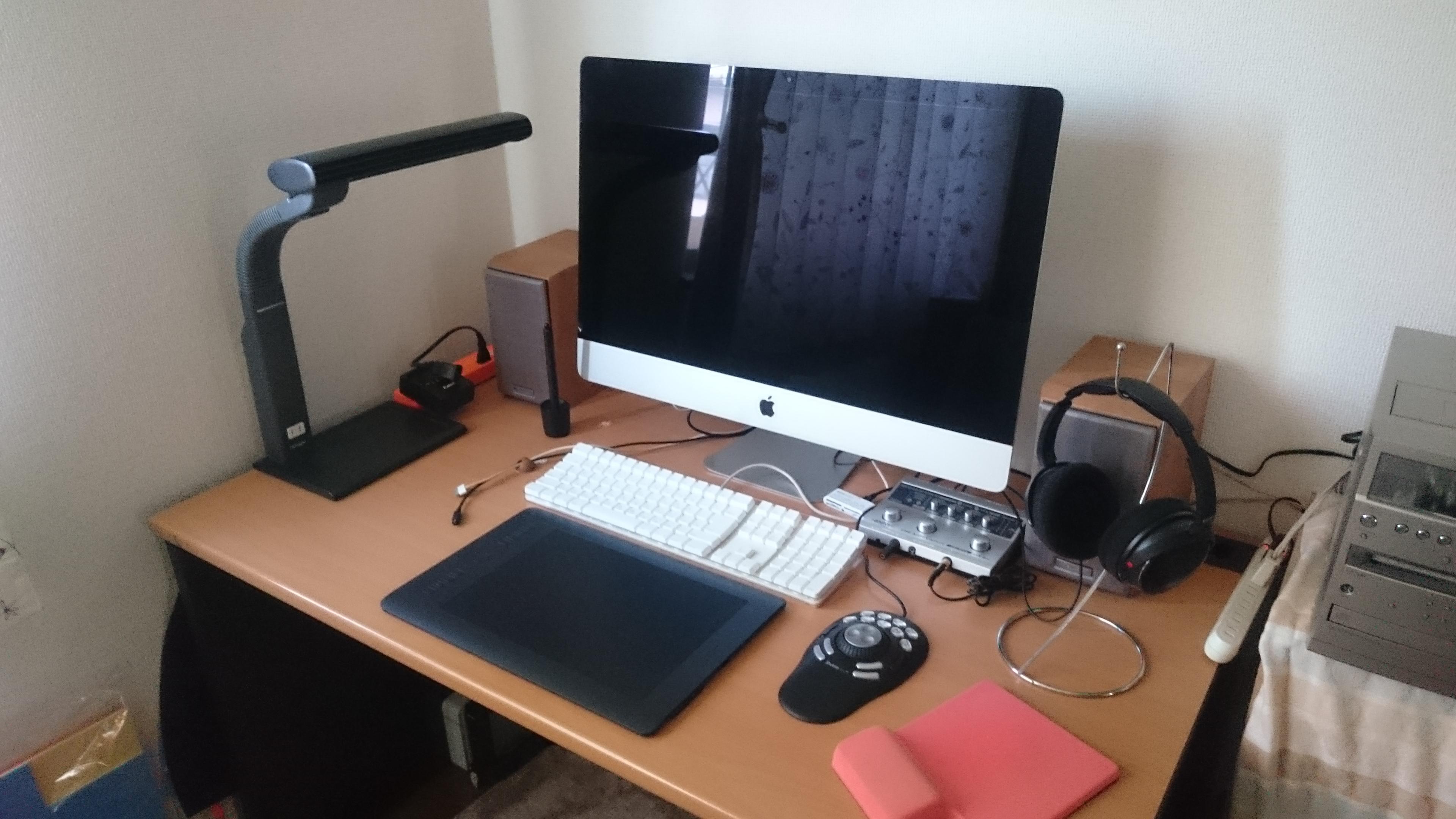 iMac27インチがドーン!