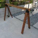【DIY】サイクルスタンドを2×4材で作る